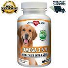 Omega 3 for Dogs Fish Oil Flaxseed Oil Antioxidant DHA EPA Fatty Acids