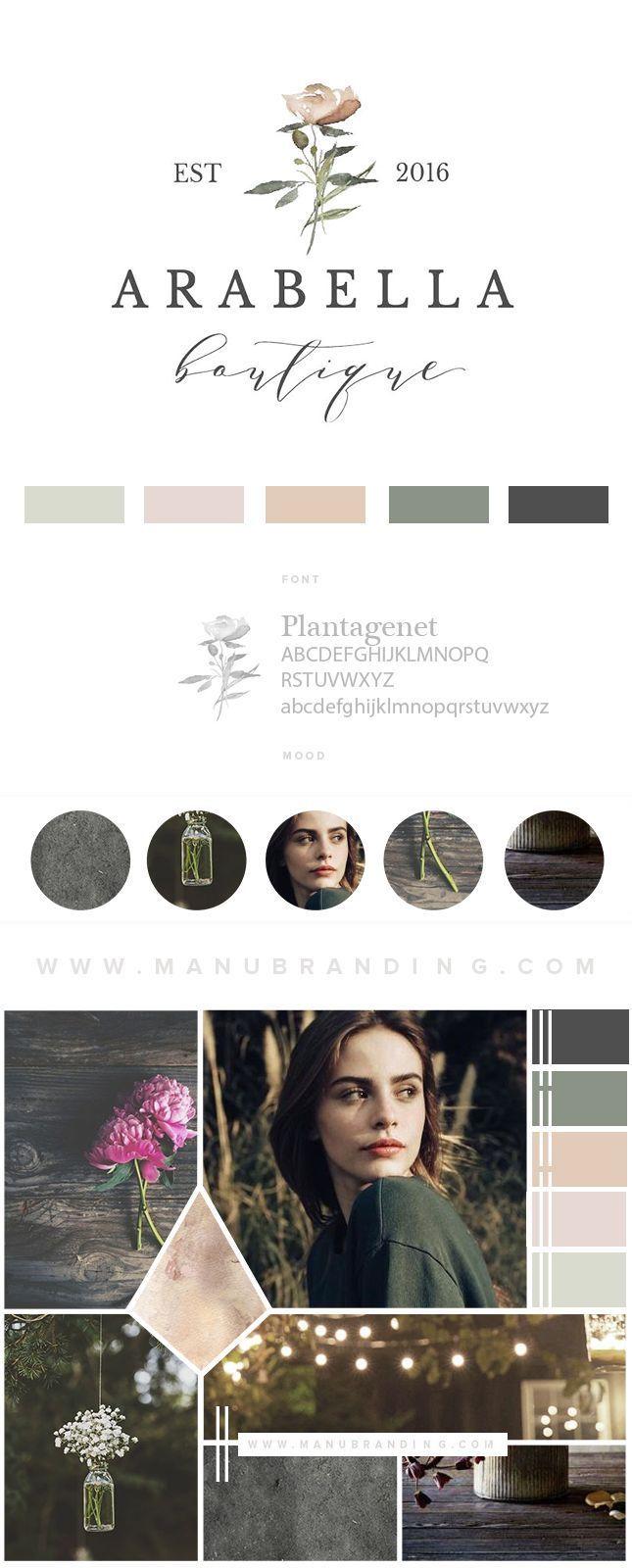 Logo Branding Feminine Emblem Professional Business Branding By Manu Branding Logo Wedding Planner Logo Wedding Planner Logo Design Inspiration Branding