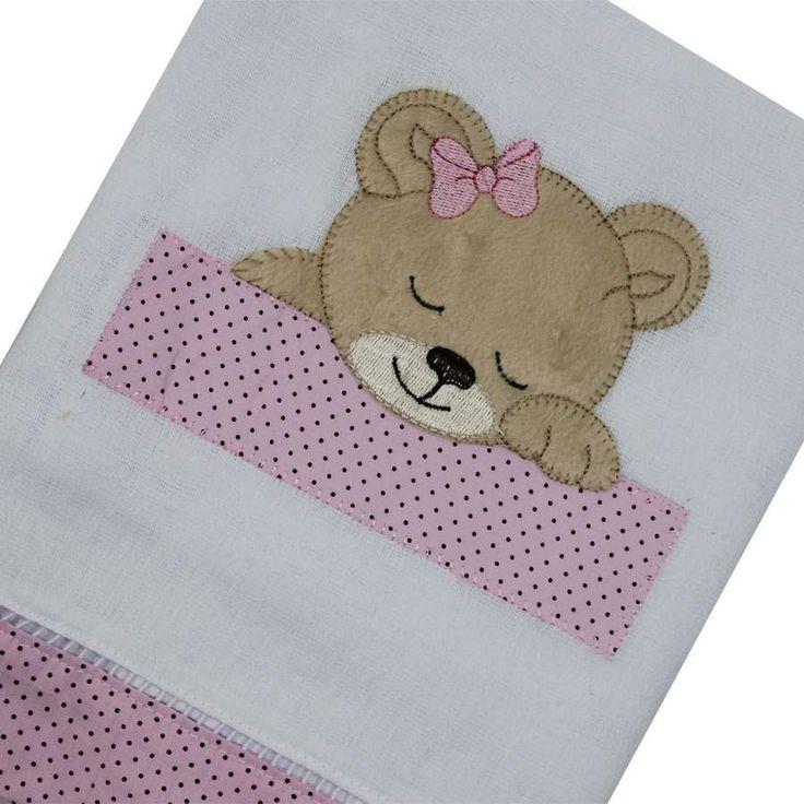 toalha fralda bordada - Pesquisa Google