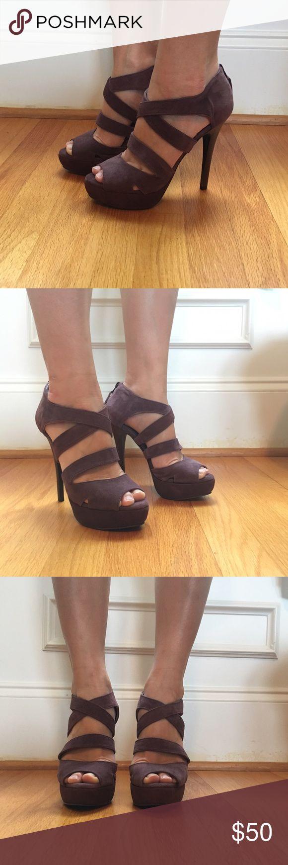 Shoestock, New Purple Suede Pumps, 5 Fits like 6 Shoestock, Brand New, Purple Suede Pumps, Size 5 Fits like 6 Shoestock Shoes Heels