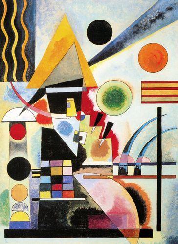 Schaukeln - 1925 - Kandinsky Vassili - Opere d'Arte su Tela - Listino prodotti - Digitalpix - Canvas - Art - Artist - Painting