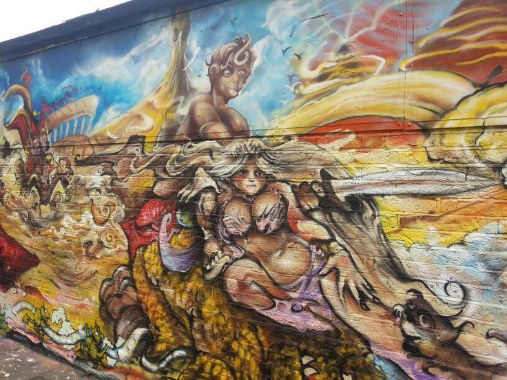 Terry Pratchett graffiti memorial 2.