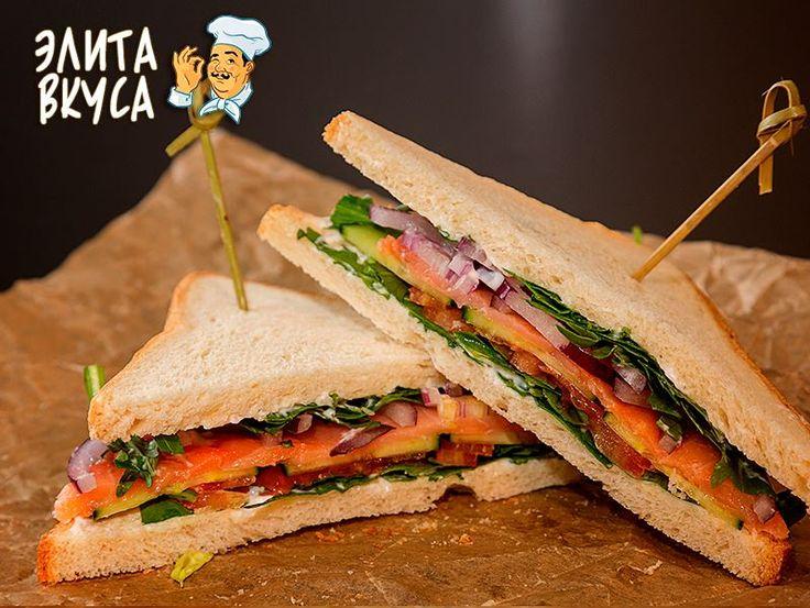 Клаб-сэндвич с копченым лососем http://elitavkusa.ru/sendvichi-geleznodorogniy/klab-sendvich-s-kopchenym-lososem.html  Доставим Вам вкусняшки быстрее чем за 60 минут по Железнодорожному🚀  👌Вкус удовольствия - оторваться невозможно!👌