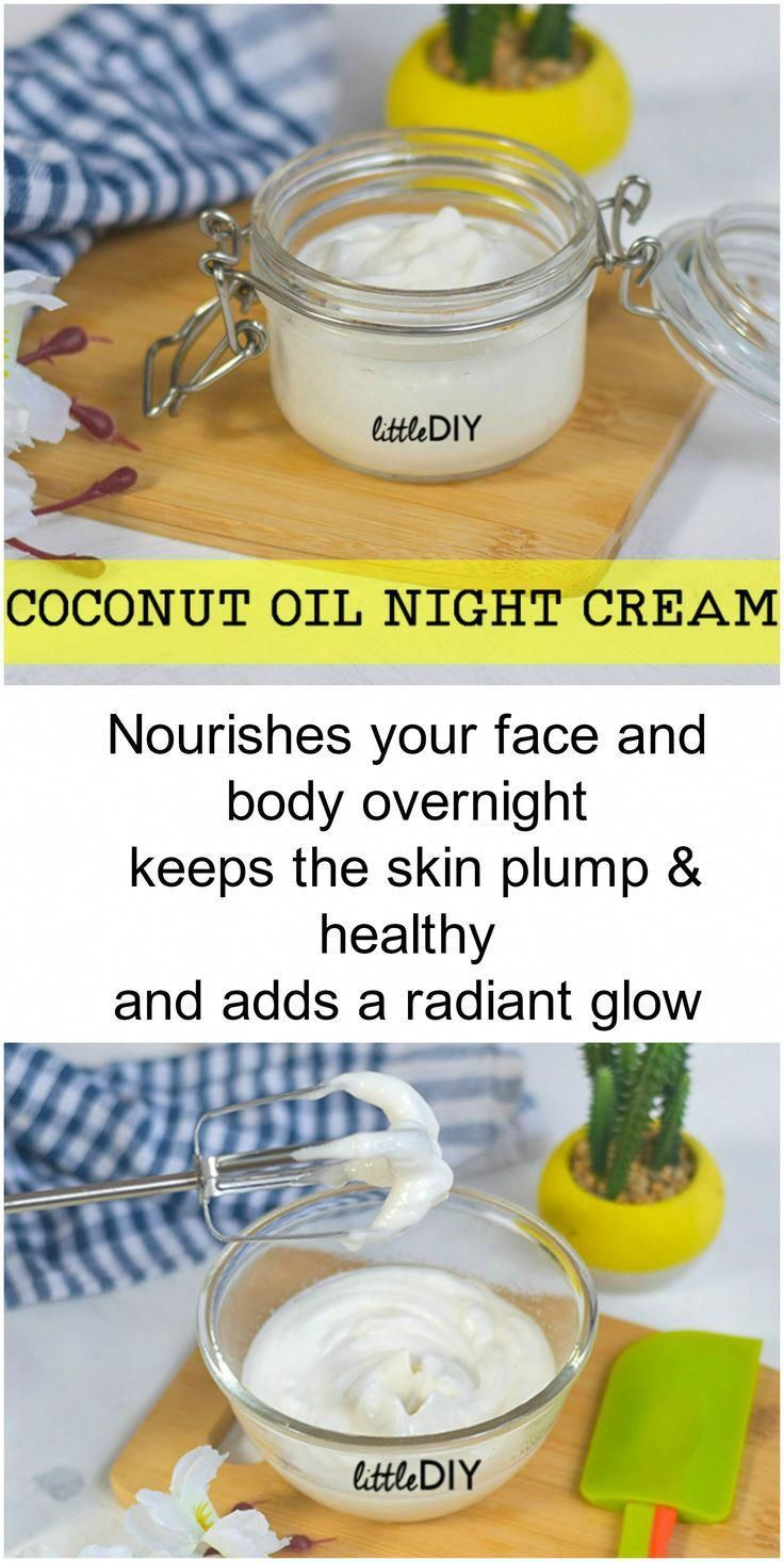 Moisturizing and Nourishing Coconut Oil Night Cream