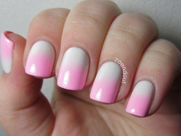 Not so bold Vday nails