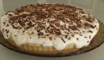 Banana cream pie (ou a minha tarte de banana)
