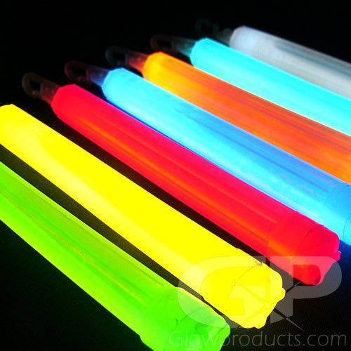 6 Inch Glow Sticks 12 Hour Premium Led Light Stick Glow Sticks Glow