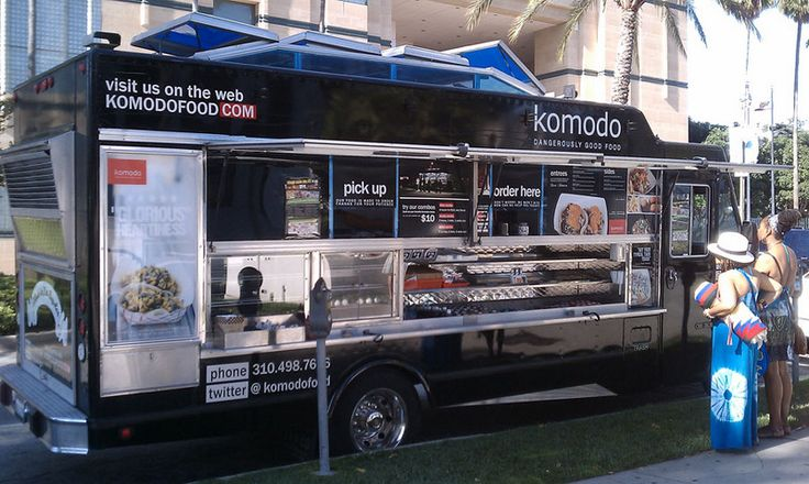 Today's food truck special is Komodo, an Asian-fusion specialty that is truly mouthwatering. Dangerously good. We find food trucks a wonderful alternative to full stop lunches in the middle of an Elite Adventure Tours expedition around Los Angeles. This one is parked in front of the LA County Museum of Art and right next to the La Brea Tar Pits. Perfect!