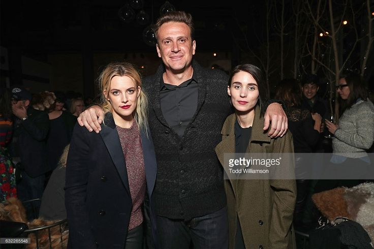 Actors Riley Keough, Jason Segel, and Rooney Mara attend as Netflix celebrates Original Film 'The Discovery' at Sundance 2017 on January 20, 2017 in Park City, Utah.