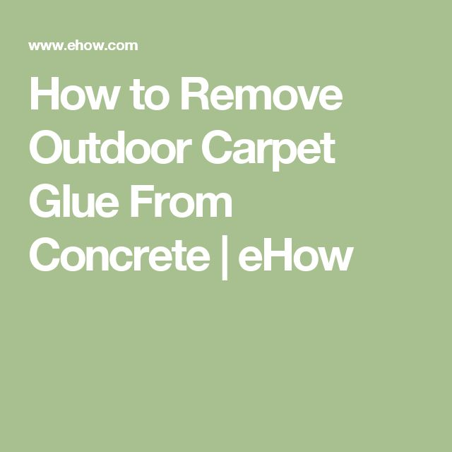Glue And Epoxy Removal From Concrete Floor After The Tiles Are Removed: Yellow Carpet, Painting Concrete Floors And Stain