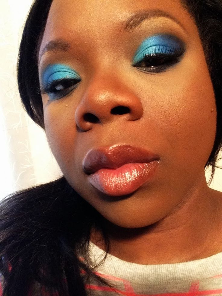 Blue Eyeshadow Tutorial Lush Verdant Tutorials