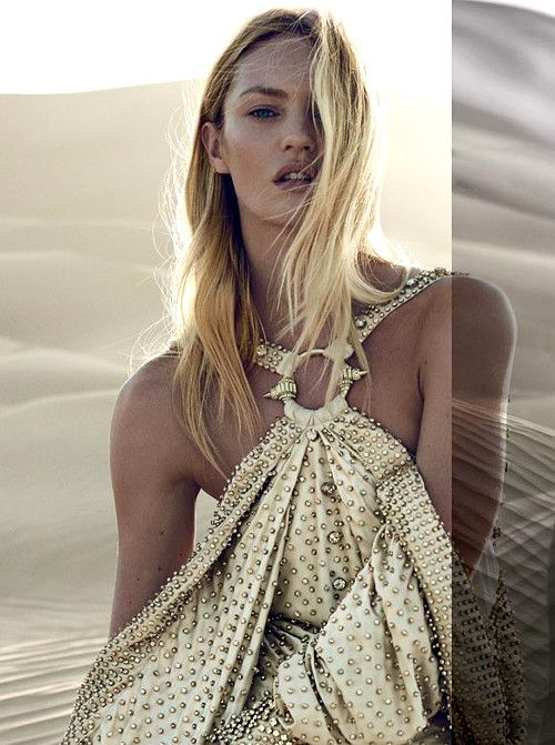 Candice Swanepoel Givenchy Campaign 2016