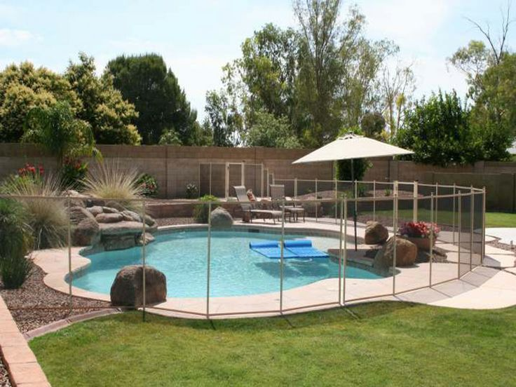 Inground Pool Prices | Removeable In-Ground Swimming Pool Safety Fence | Pool Accessories