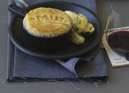 Beef, mushroom and Guinness pie recipe - 9Kitchen