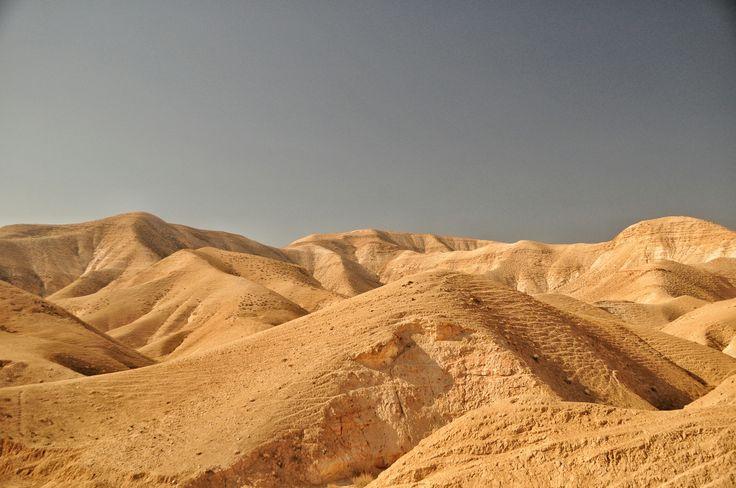 nicht von dieser Welt - die Judäische Wüste zwischen Jerusalem und dem Toten Meer in Israel  #Israel #Jerusalem #Totes #Meer