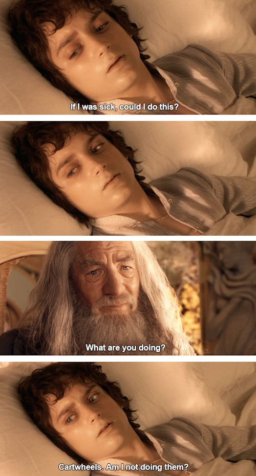 Fifteen hilarious 'Lord of the Rings' and 'Parks and Recreation' mash-up memes