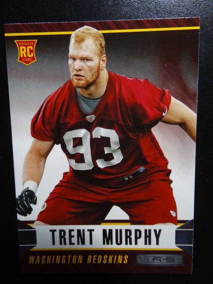 2014 Panini Rookies and Stars #195 Trent Murphy Washington Redskins Rookie Card #WashingtonRedskins