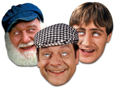 Licenced Only Fools & Horses Celebrity Face Masks Del Boy/Rodney/Uncle Albert | eBay