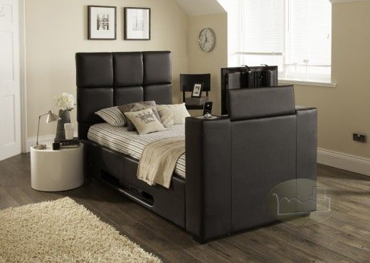 Harvard Iaudio Single Tv Bed Black Free Mattress Limited Number Left