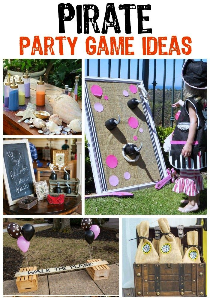 pirate party game ideas on playpartypincom - Free Disney Games For 4 Year Olds
