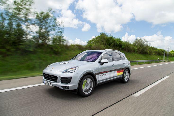 #Porsche #cayenne #hybrid #eco #rallye #car