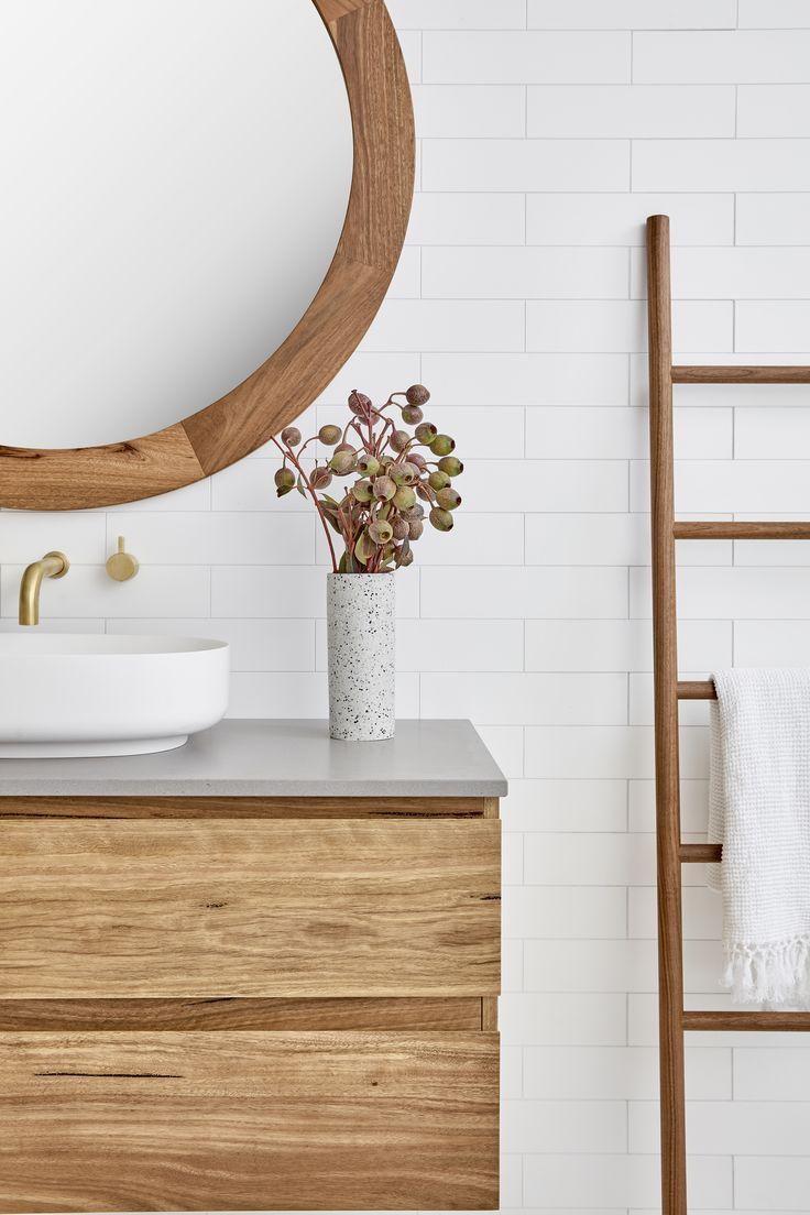 Beachwood Vanity. Loughlin Furniture. Ladder by Scandilux