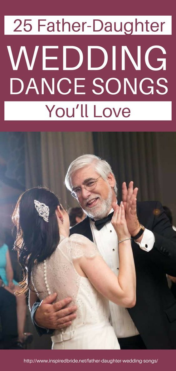 unusual father daughter wedding songs