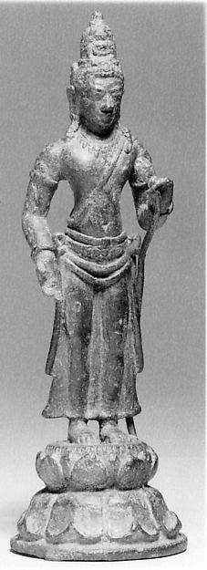 Standing Bodhisattva on Tall Base | Indonesia (Java) | The Met