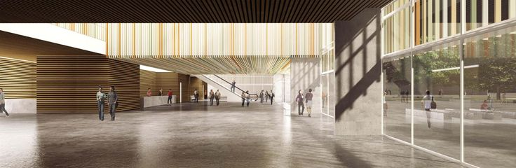 OPERASTUDIO - Competition - Helsinki public library - #render #interior