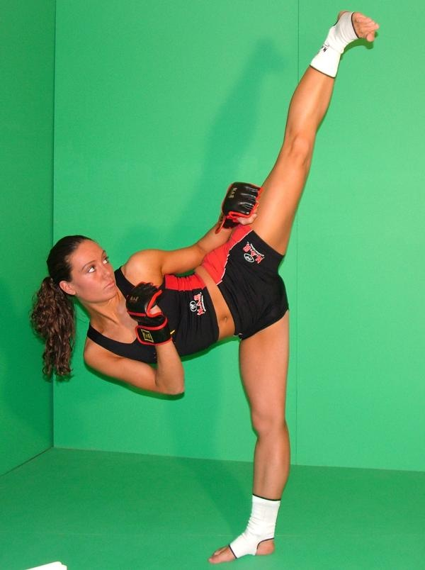 martial artist female po