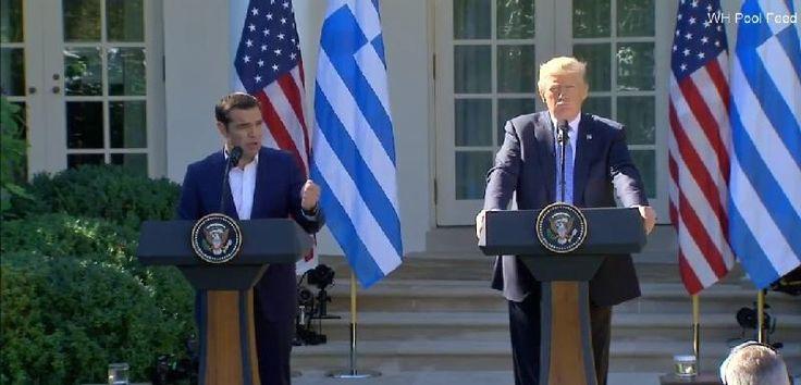 Για θετικό κλίμα στη συνάντηση Τσίπρα-Τραμπ κάνουν λόγο Αμερικανικά και γερμανικά ΜΜΕ