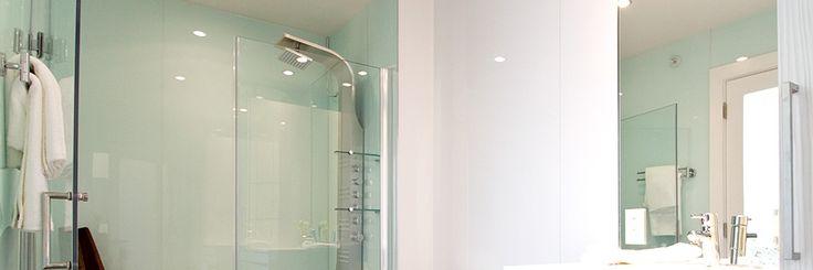 Plexiglass Shower Walls Means No Grout Inspiring Ideas