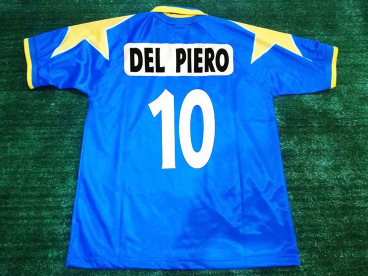 Classic Football Shirt Juventus Final Champions League 1996 DEL PIERO #10 Size M #Kappa #Jerseys