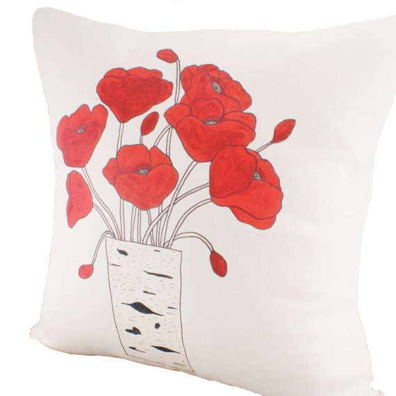 Poppies Cushion Cover
