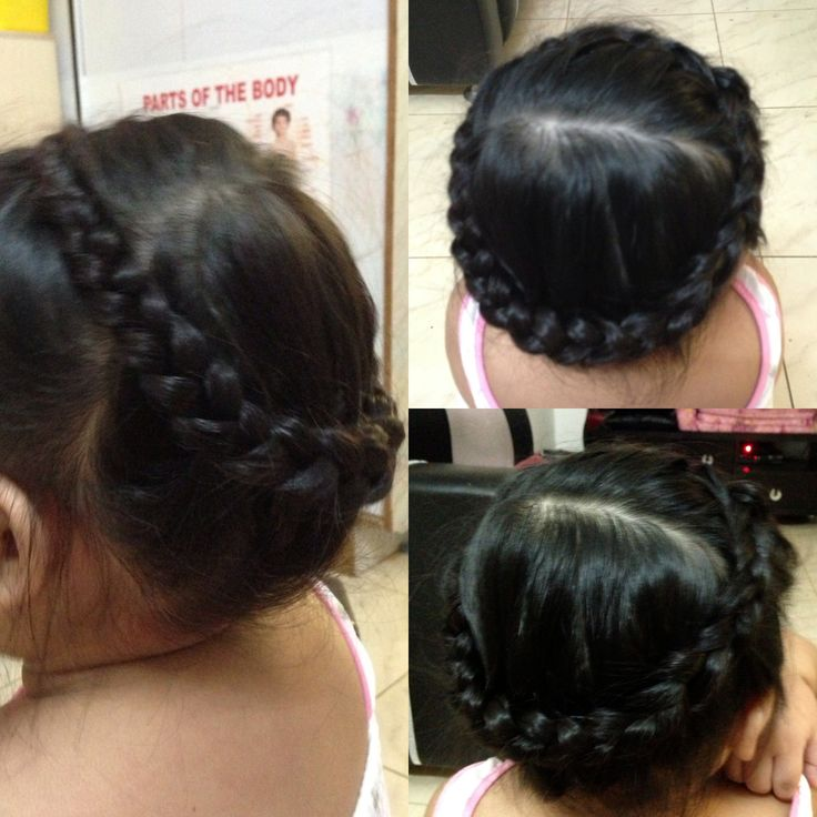 1000+ images about Crown (Coronet) Braids on Pinterest