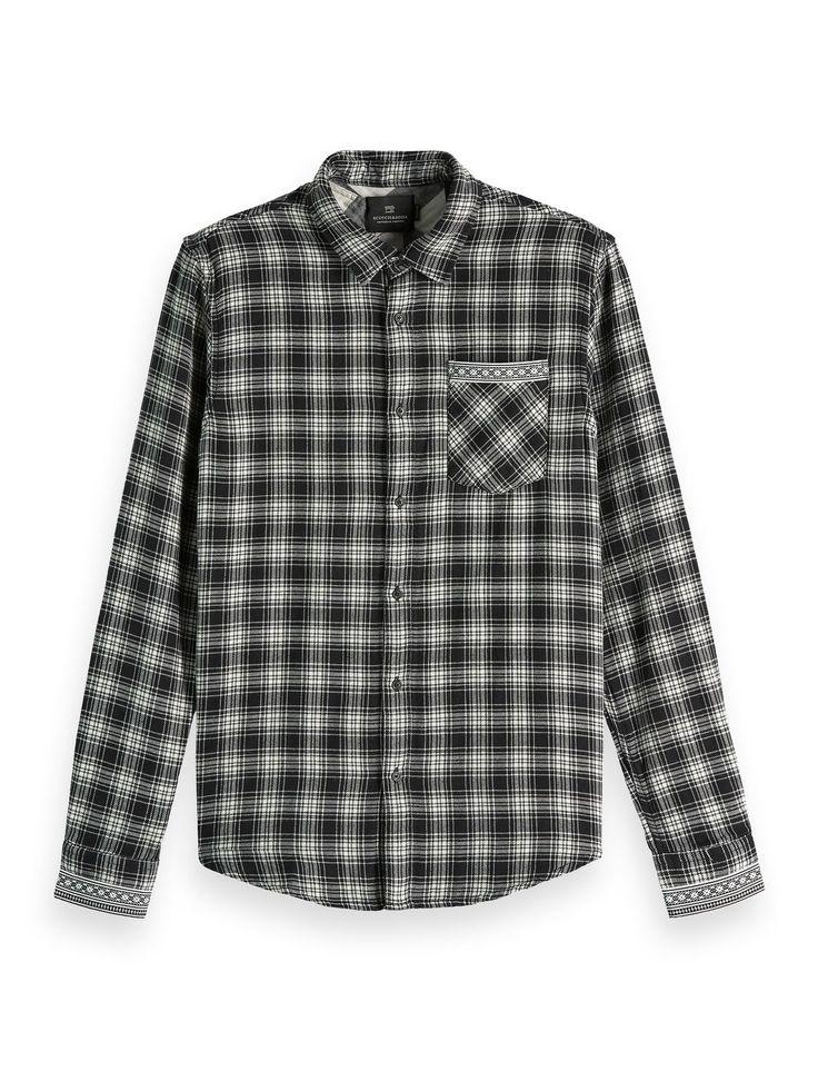 Checked Chest Pocket Shirt Regular fit Shirts, Pocket