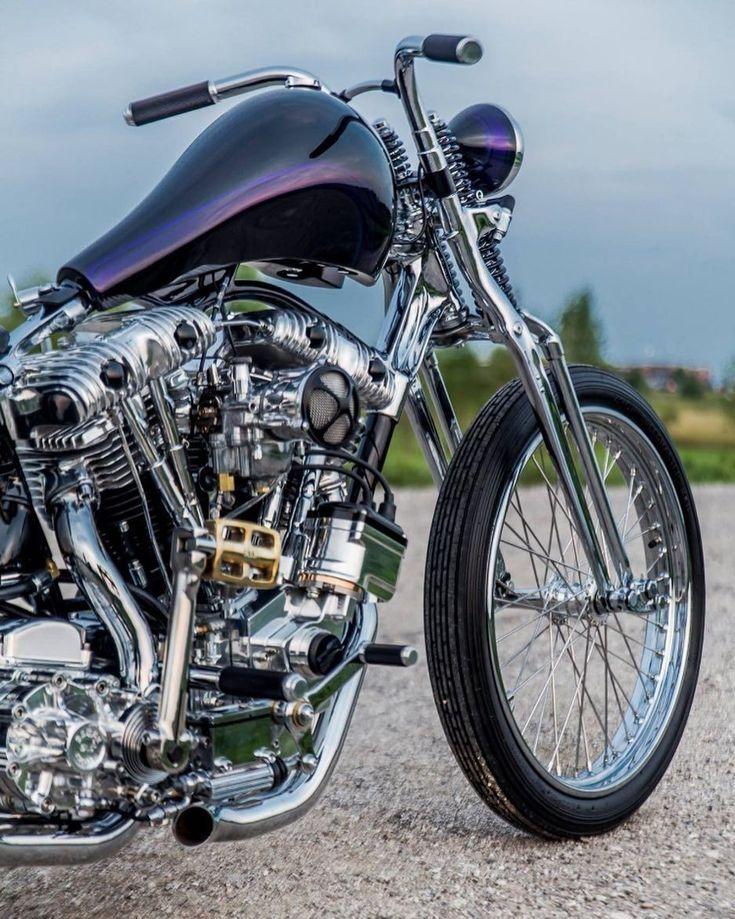 Source : iron1340 Hot Rod Rat Rod Chopper Bobber Cafe Racer Kustom Kulture vintage classic babes #harleydavidsonchoppersvintage #harleydavidsoncaferacer #harleydavidsonchopperscustombobber