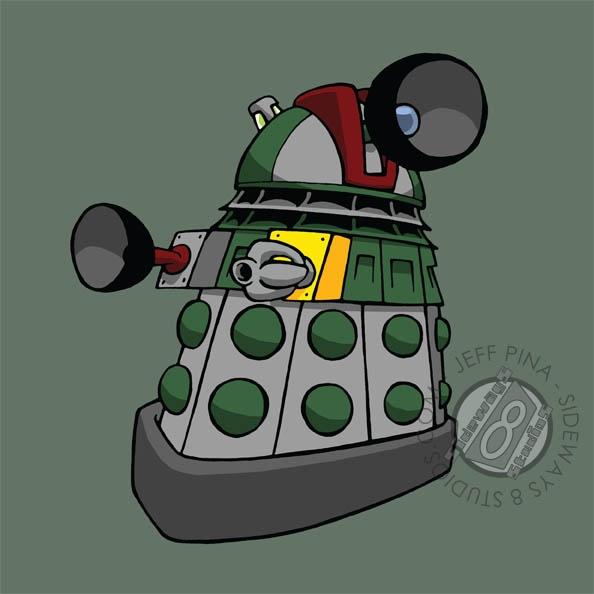 Boba Dalek by ~Sideways8Studios on deviantARTSideways, Studios, Boba Fett, Art, Doctors Who, Boba Dalek