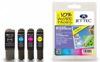 JetTec Brother LC-1220 BCMY Multipack Remanufactured The Brother LC-1220 BCMY Multipack remanufactured Ink Cartridge by JetTec - B1220/B/C/M/Y is a JetTec branded remanufactured printer ink cartridge for Brother printers. They provide OEM style quality  http://www.MightGet.com/february-2017-3/jettec-brother-lc-1220-bcmy-multipack-remanufactured.asp