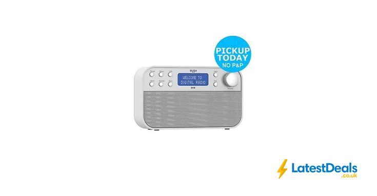 Bush DAB Radio - White/Silver *HALF PRICE* Free C&C, £29.99 at ebay