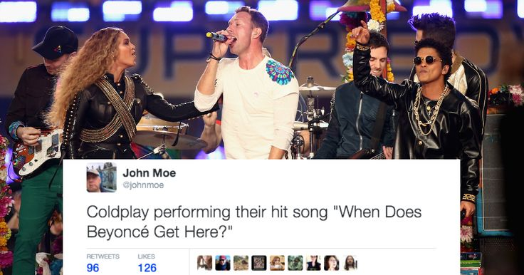 The 35 funniest reactions on social media to the Super Bowl 50 halftime show.