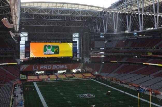 University of Phoenix Stadium, único por su tecnología. #SuperBowlXLIX