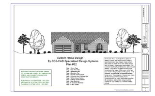 Blueprints for Houses, Cabins, Garages and Barns