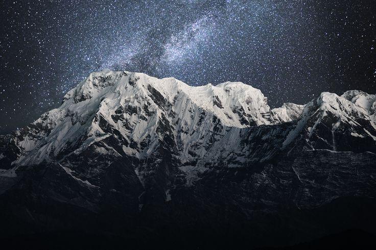 starry night in Sarangkot, Nepal (source: internet)