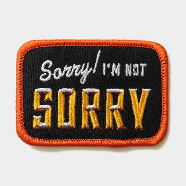 "Lil Tuffy ""Sorry, I'm Not Sorry"" Patch #LilTuffy #Patch"