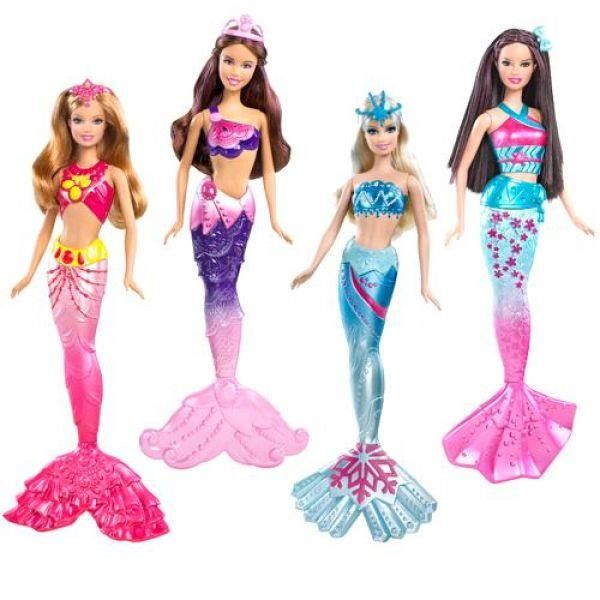 Костюм русалки для куклы