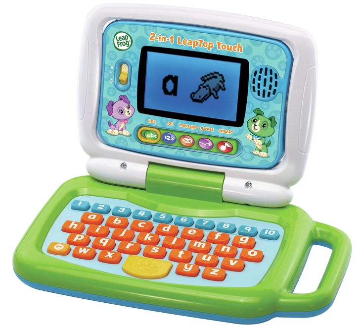 Buy LeapFrog 2 in 1 Laptop Touch  - Green at Argos.co.uk, visit Argos.co.uk to shop online for Children's laptops, Children's laptops, tablets and consoles, Electronic toys, Toys