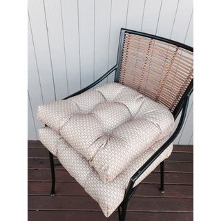 Shop for Rattan Indoor / Outdoor Chair Pads (Set of 2) . Free Shipping on orders over $45 at Overstock.com - Your Online Kitchen