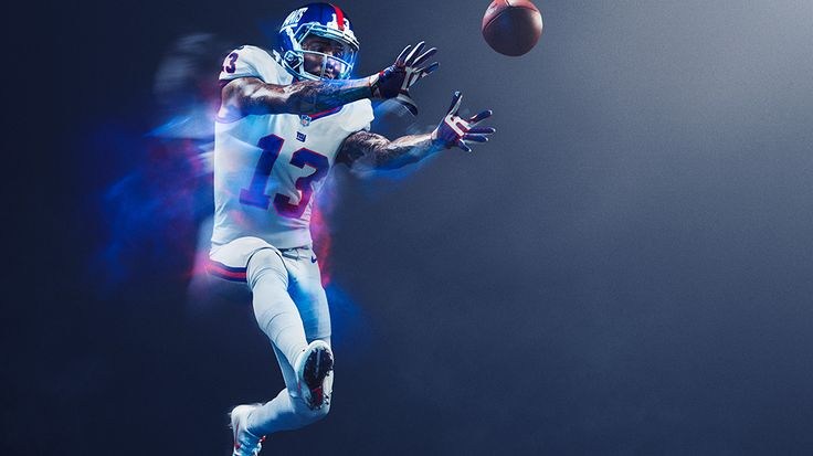 New York Giants : NFL Color Rush uniforms for 2016 Thursday night games photos