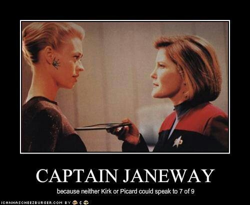 captain janeway and seven of nine relationship trust